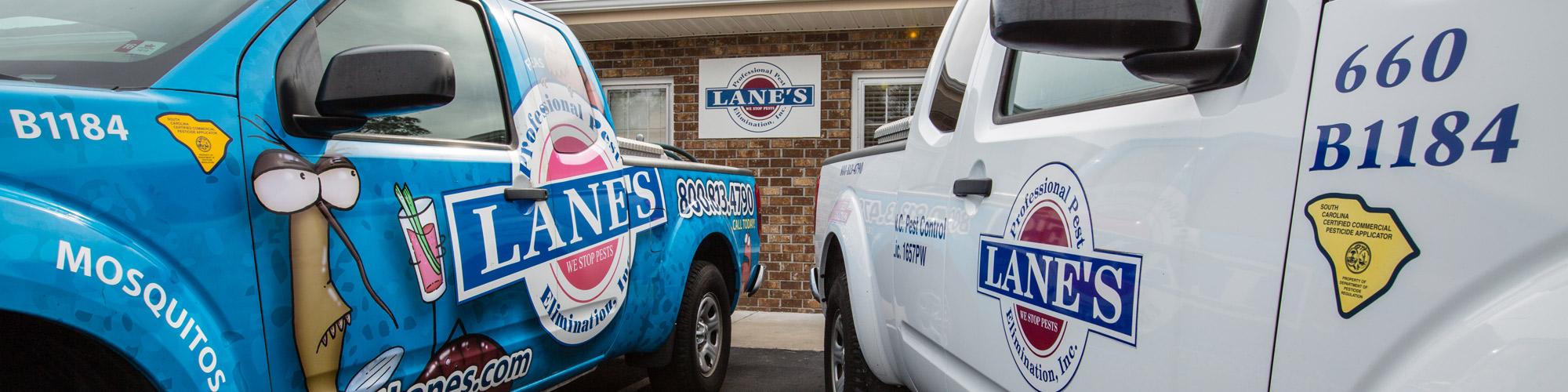Contact Lane's